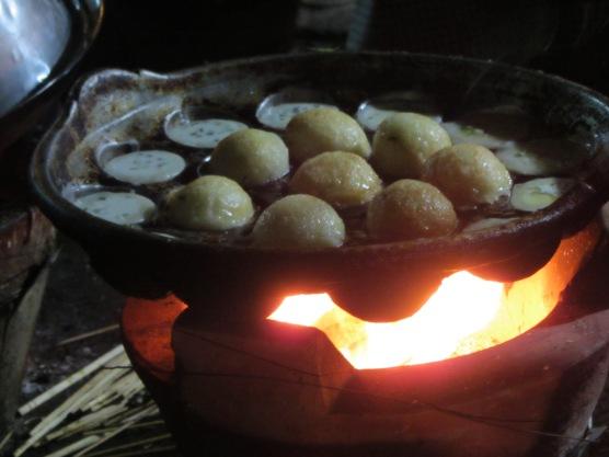 Rice beignets