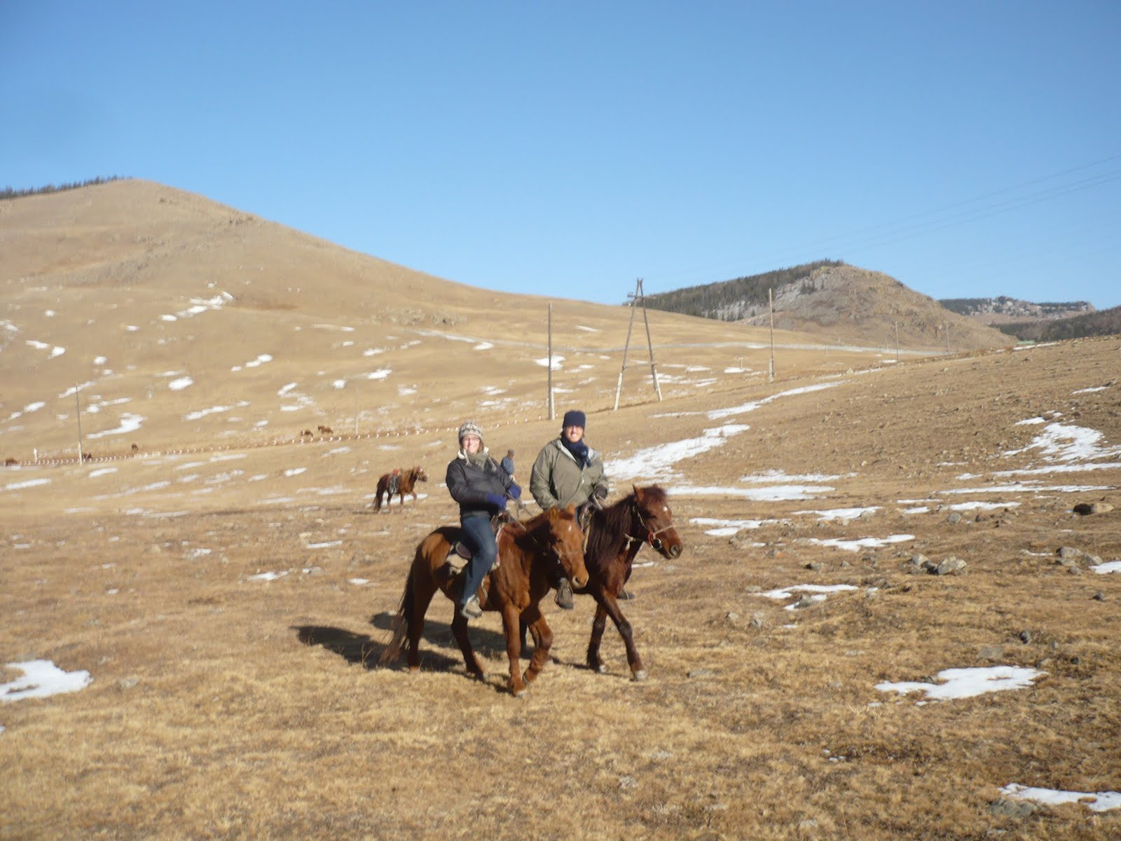 Click here for pictures of Trans Mongolian Railway.