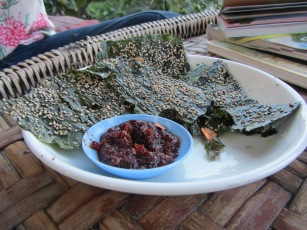 Mekong river weed