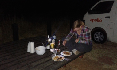 Eating & camping