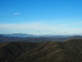 Views over the Victoria High Country from Power's Lookout