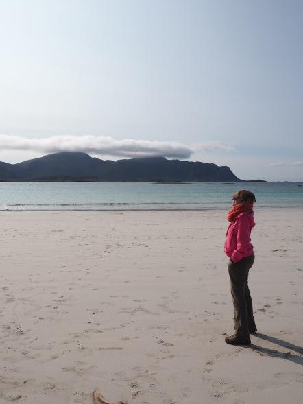 Beach in Ramberg