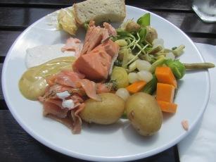 Salmon Buffet @ Vadstena Klosterhotel
