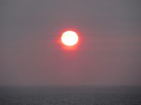 Midnight sun @ Nesna
