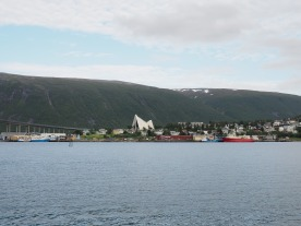 View on Tromso Cathedral