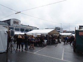 Kødbyens food market, Copenhagen