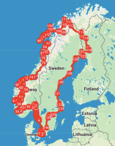 Scandinavia roadtrip