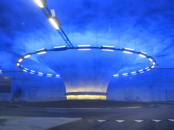 Impressive tunnels